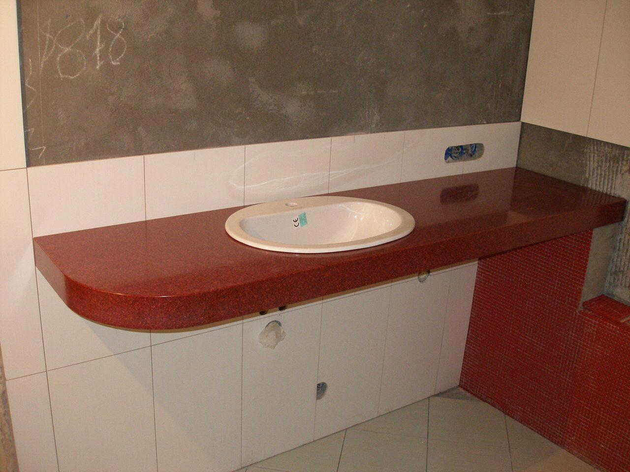 Как сделать столешницу своими руками для ванной комнаты